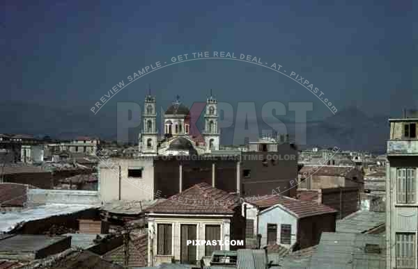 Agios Mina Cathedral, Iraklio Crete 1941 during German Occupation