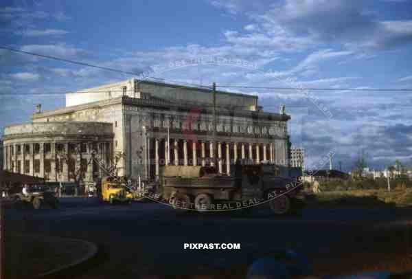 Central post building in Manila, Philippines 1945
