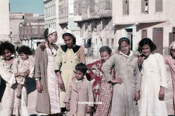 Children in Alexandria, Egypt 1939