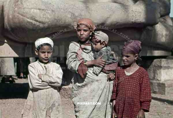Children in Memphis, Egypt 1939