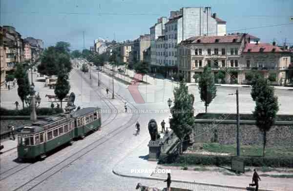 Lions bridge in Sofia, Bulgaria 1942