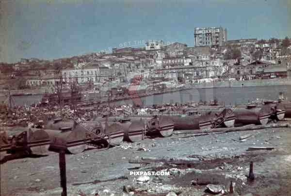 Rostow harbour, Ukraine 1942