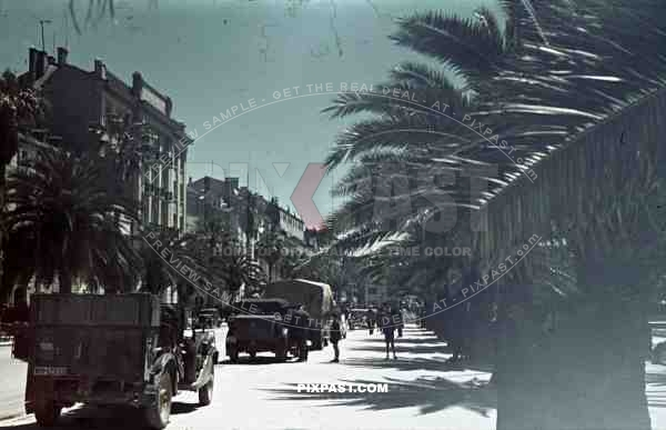 Split, Croatia 1941. Italian occupation. April 15th 1941.