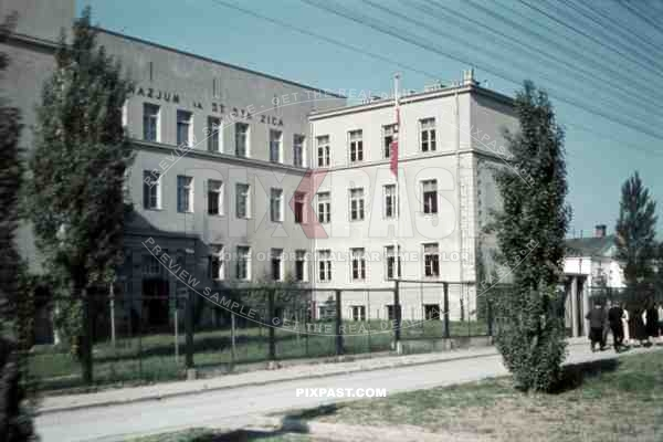 St. Staszica School in Lublin Poland 1940