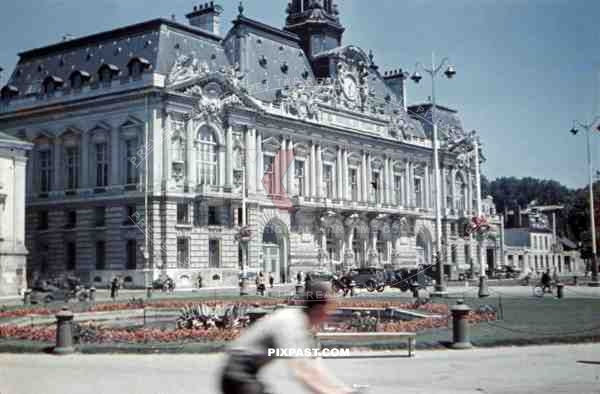 Town hall of Tours, France 1940