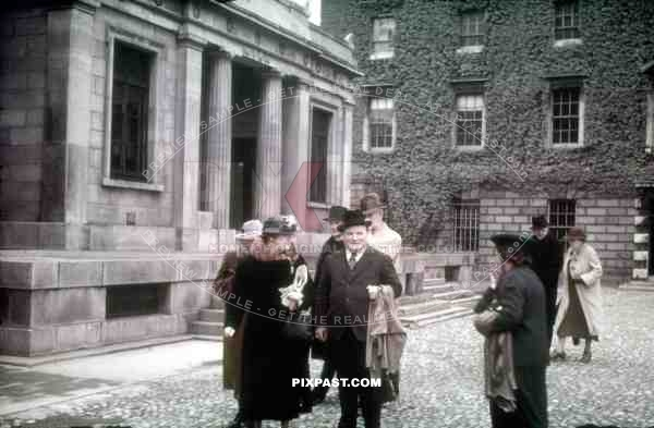 War memorial at the Trinity College in Dublin, Ireland 1939