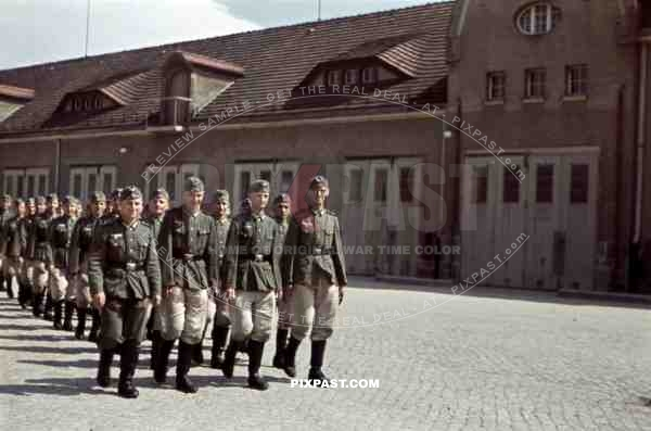 Wehrmacht soldiers of the IR 103 in Bautzen, Germany 1939