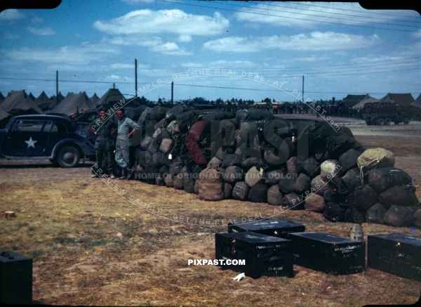 dijon france ve day victory in europe may 8th 1945 american army camp captured german car 1. Black Bedroom Furniture Sets. Home Design Ideas